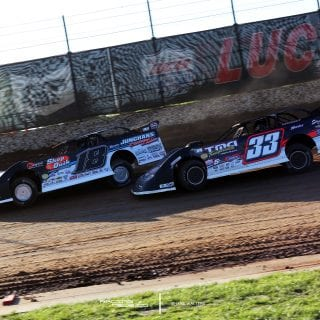 Chase Junghans and Tim Manville at Lucas Oil Speedway 0064