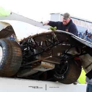 Cody Mahoney Florence Speedway Crash 5162