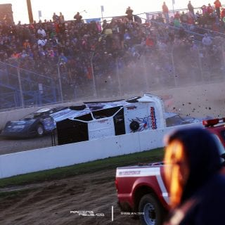Cody Mahoney Florence Speedway Crash Photos 5142