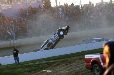 Cody Mahoney Florence Speedway Flip 5148