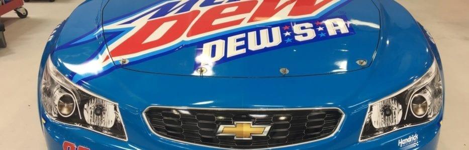 New Mountain Dew Flavor – Dale Jr DEW-S-A Paint Scheme