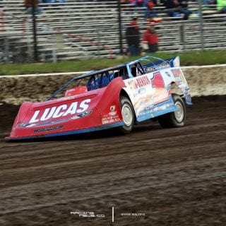 Earl Pearson Jr Lucas Oil Late Models at I80 Speedway 7679
