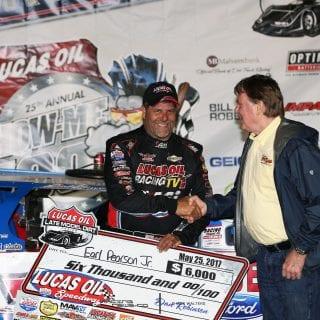 Earl Pearson Jr Lucas Oil Speedway Winner 8917