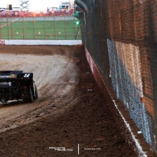 Evan Hubert Dirt Late Model Photo 8347