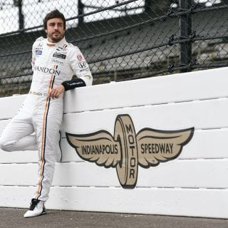 Fernando Alonso Indianapolis Motor Speedway Portrait
