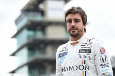 Fernando Alonso Indianapolis Motor Speedway Test