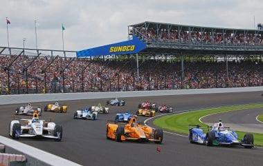 Fernando Alonso Indy 500 Finish