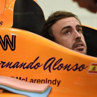 Fernando Alonso Indy 500 Test Video
