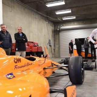 Fernando Alonso IndyCar Series Test