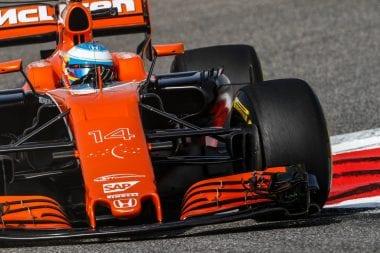 Fernando Alonso McLaren-Honda F1 Car