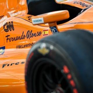 Fernando Alonso McLaren-Honda IndyCar Photos