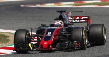 Haas F1 Upgrades