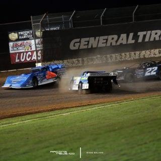 Jesse Stovall Dennis Erb Jr Lucas Oil Speedway 8856