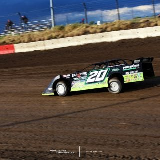 Jimmy Owens I-80 Speedway Photo 7607