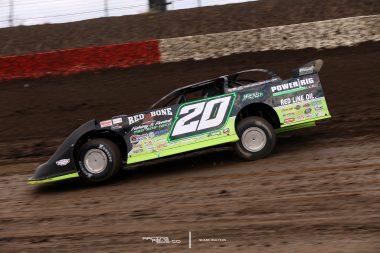 Jimmy Owens I-80 Speedway Qualifying