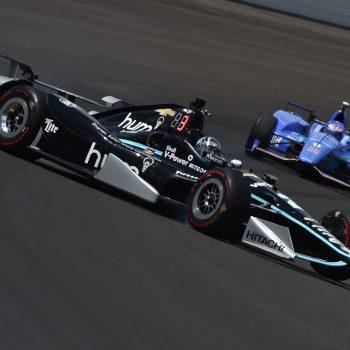 Josef Newgarden Indianapolis Crash