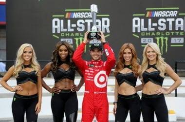 Kyle Larson NASCAR Allstar Pole - May 20, 2017