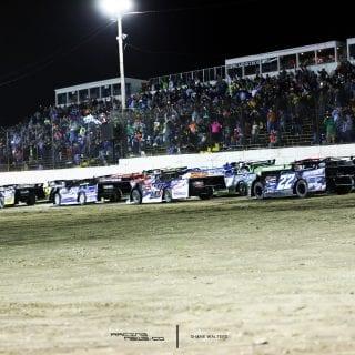LaSalle Speedway 4 Wide Salute 6702