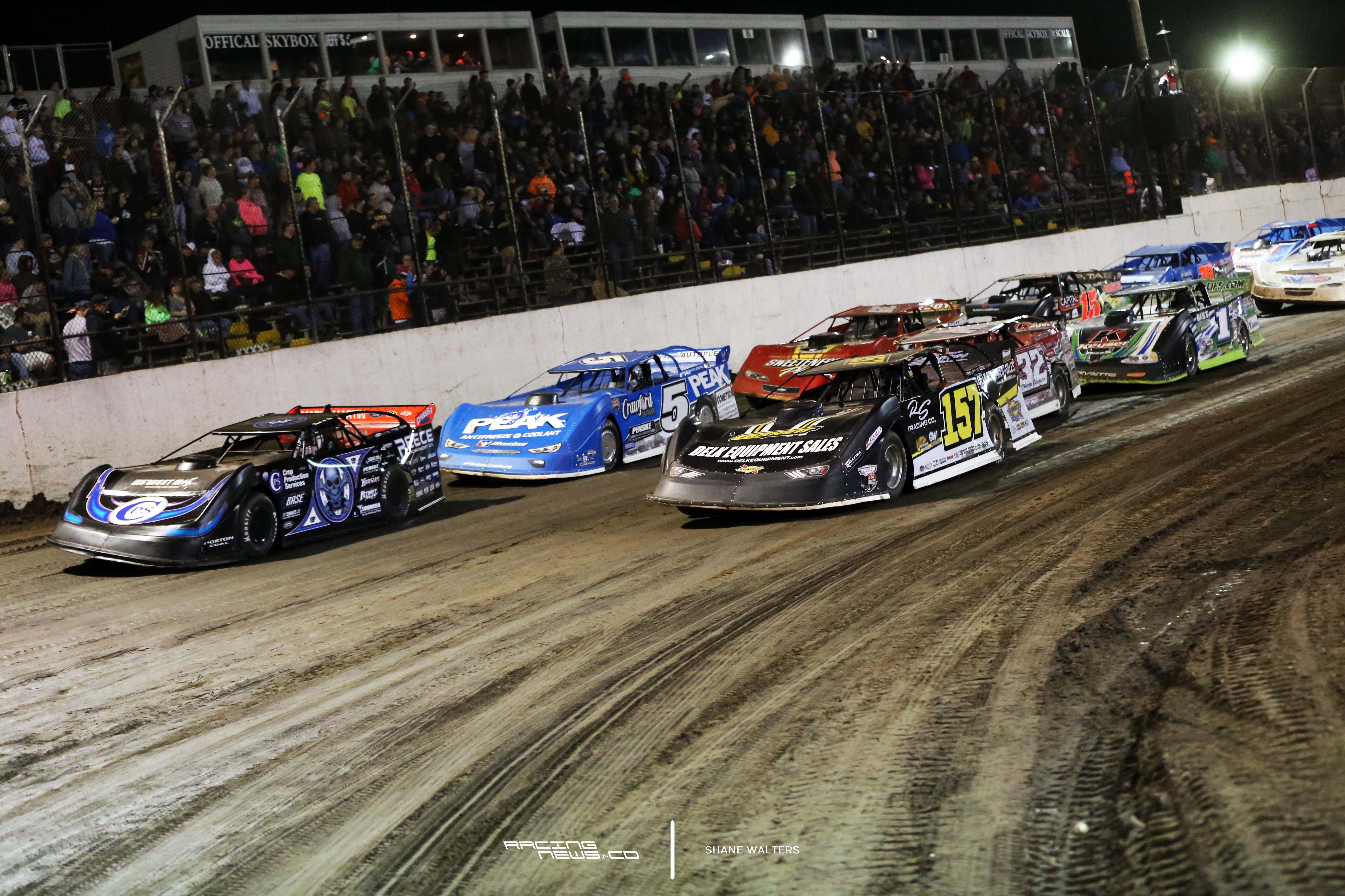 LaSalle Speedway Lucas Oil Late Model Dirt Series May 2017 6695
