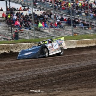 Lucas Oil Late Model Dirt Series I-80 Speedway Photography 7678