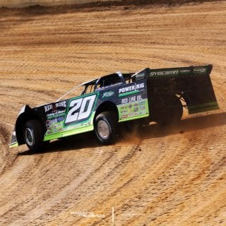 Lucas Oil Late Model Dirt Series Photos from Florence Speedway 4785