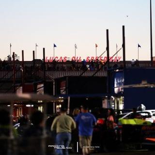 Lucas Oil Speedway Sign 0504