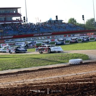 Lucas Oil Speedway Staging 8184