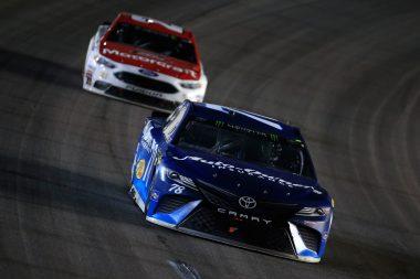 Martin Truex Jr wins 2017 Kansas Speedway NASCAR race