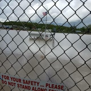Peoria Speedway Flood Photo