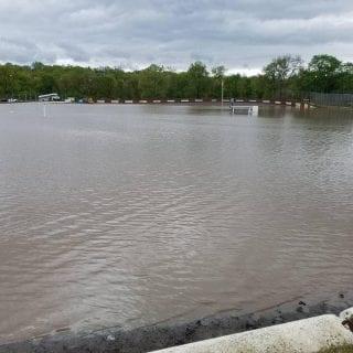 Peoria Speedway Flooding Photos