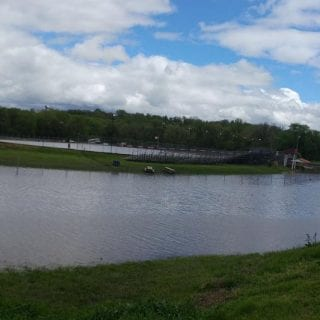 Racing Track Flooding Photos