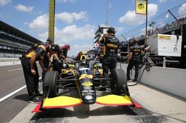 Sage Karam Indianapolis Motor Speedway