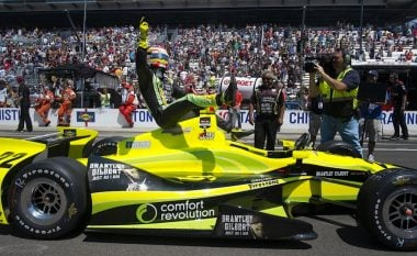 Sage Karam Riding Indycar at Indy 500