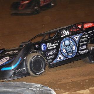 Scott Bloomquist Florence Speedway Win - Lucas Oil Late Model Dirt Series Photos 5456