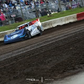 Scott Bloomquist I-80 Dirt Track Photos 7696
