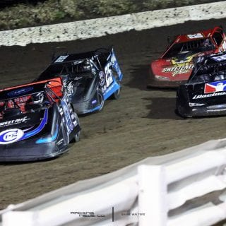 Scott Bloomquist I80 Speedway Restart 7963