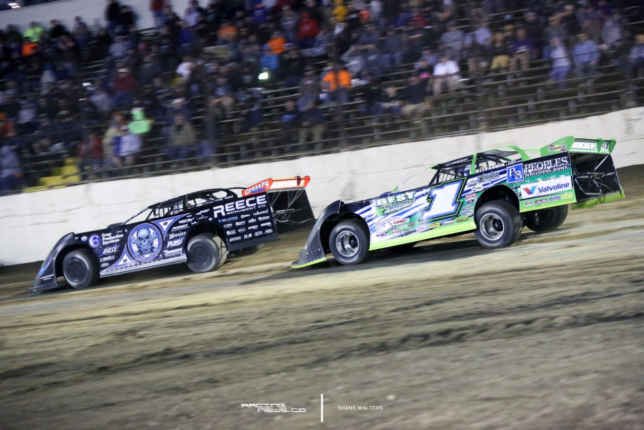 Scott Bloomquist Josh Richards LaSalle Speedway 6813