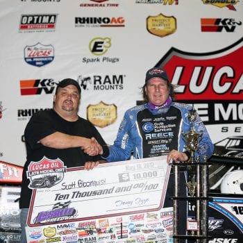 Scott Bloomquist LaSalle Speedway Promoter Tony Izzo Jr 6937