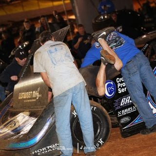 Scott Bloomquist Tazewell Speedway Steering Issues 6013