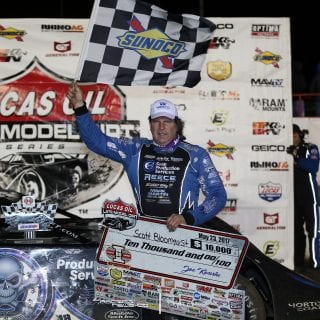 Scott Bloomquist Victory Lane 8131