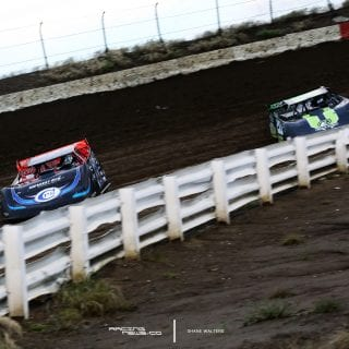 Scott Bloomquist and Jimmy Owens 7769