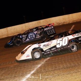 Scott Bloomquist and Shanon Buckingham Lucas Dirt race at Florence Speedway 5352