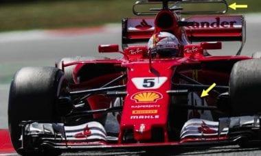 Scuderia Ferrari Upgrades