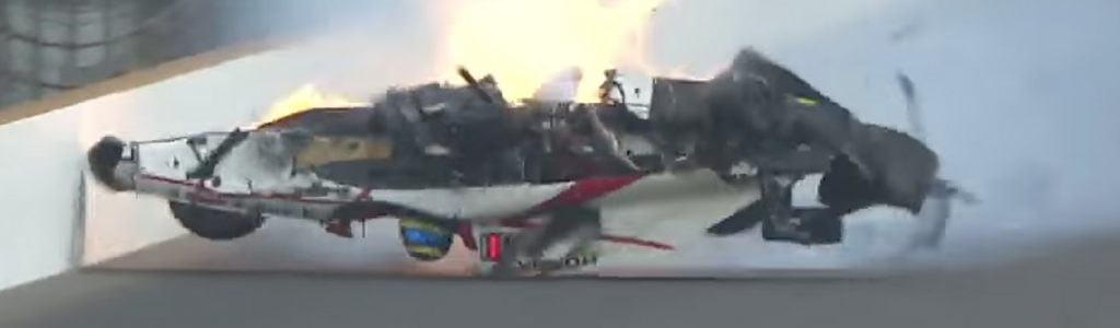 Sebastien Bourdais Medical Update – Crash Video