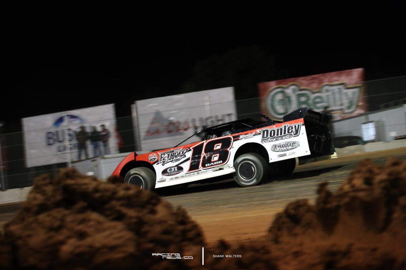 Shannon Babb Luxemburg Speedwy Lucas Oil Late Model Dirt Series winner 7392