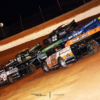 Tazewell Speedway 4 Wide Salute LOLMDS - May 7, 2017 5967