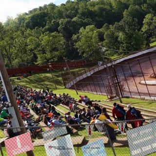 Tazewell Speedway Grandstands 5568