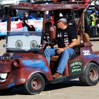 Tow Mater Pit Cart for Bobby Pierce 9973