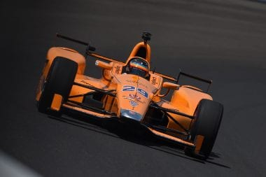 Where is Fernando Alosno starting in Indy 500?