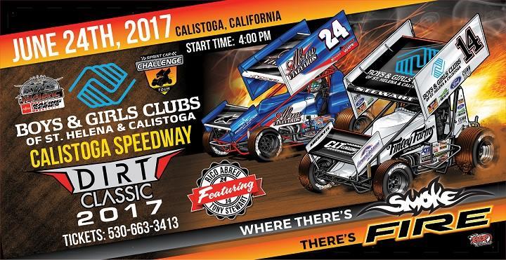 2017 Calistoga Dirt Classic Sprint Car Event